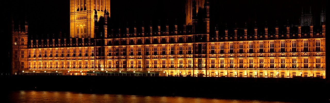 English Houses of Parliament, where the November budget is decided